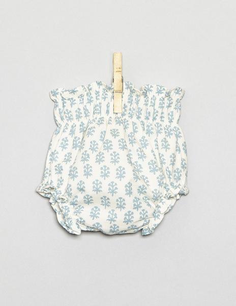 White buti newborn bloomers