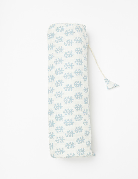 White buti print case