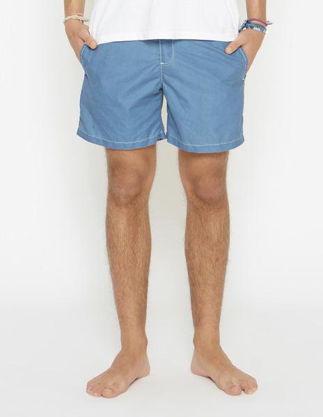 Boys' light blue swimming trunks