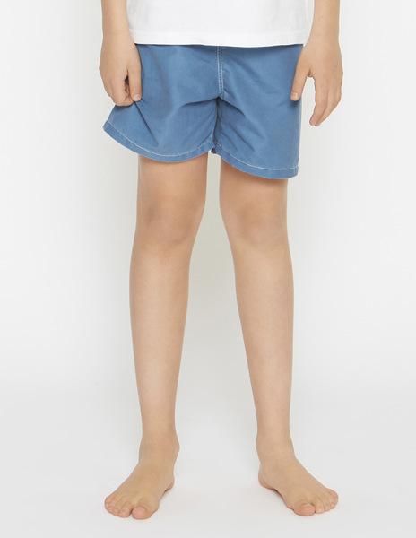 Light blue swimming trunks