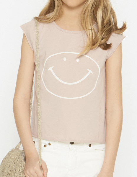 Pink HAPPY t-shirt
