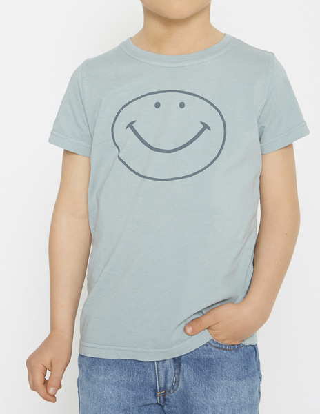 Turquoise HAPPY t-shirt