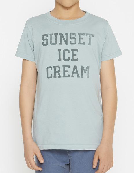 Boys' Turquoise SUNSET t-shirt