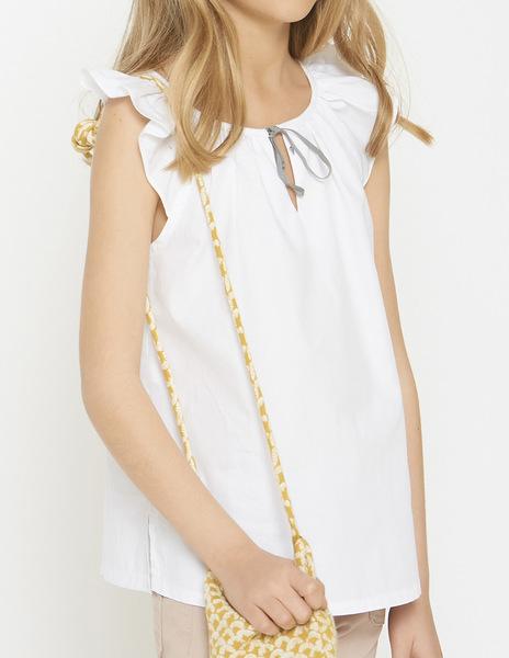 Girl's bow blouse