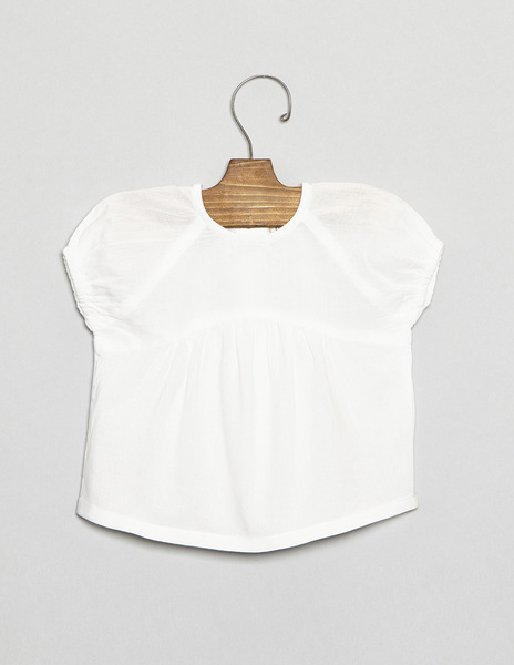 Newborn frilled blouse